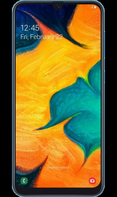 Смартфон Samsung Galaxy A30 32GB Синий