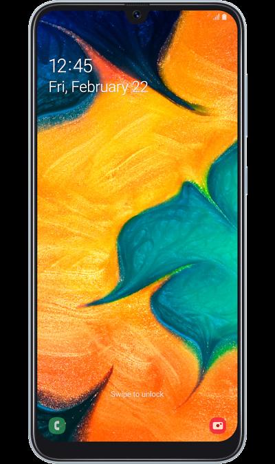 Смартфон Samsung Galaxy A30 32GB Белый